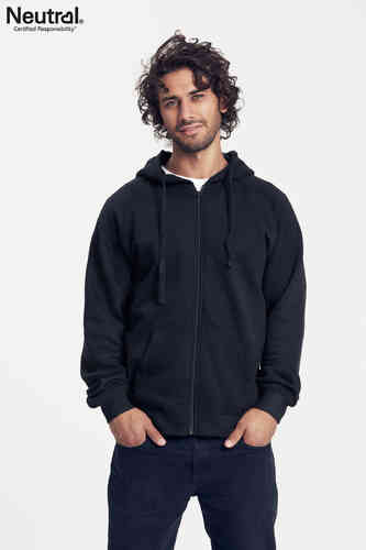Neutral Hooded Zipper (schwarz)
