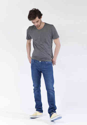 MUD Jeans Slim Lassen (pure blue)