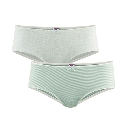 Living Crafts Damen-Panties Bridget (rosemary /mint)