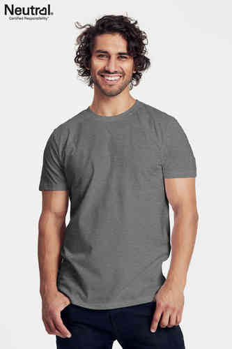Neutral T-Shirt (dunkelgrau-melange)