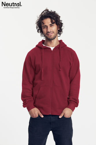 Neutral Hooded Zipper (bourdeaux)