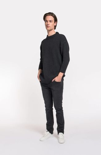 MUD Jeans Slim Lassen (stone black)