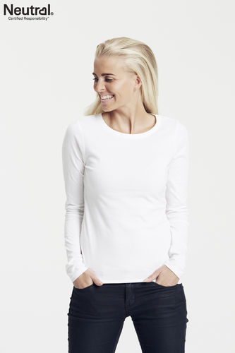 Neutral Longsleeve Women (white)