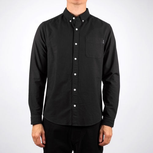 Dedicated Shirt Varberg Oxford (black)