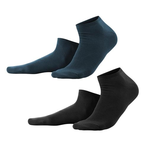 Living Crafts Sneaker-Socken Enid, 2er Pack (black/navy)