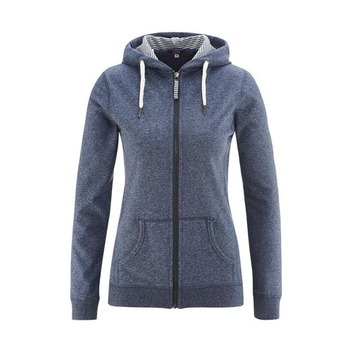 Living Crafts Zipper Jacke Athena (cloud blue melange)