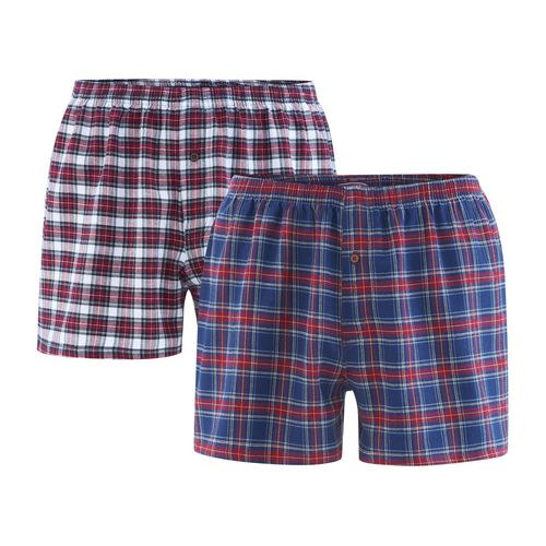 Living Crafts Boxer-Shorts, 2er Pack Boris (tartan)