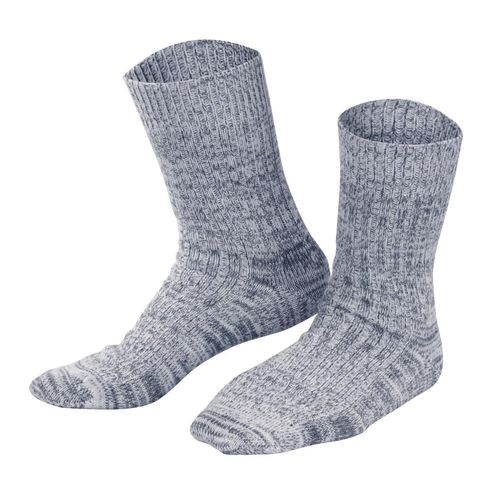 Living Crafts Norwegersocken (navy mouliné)
