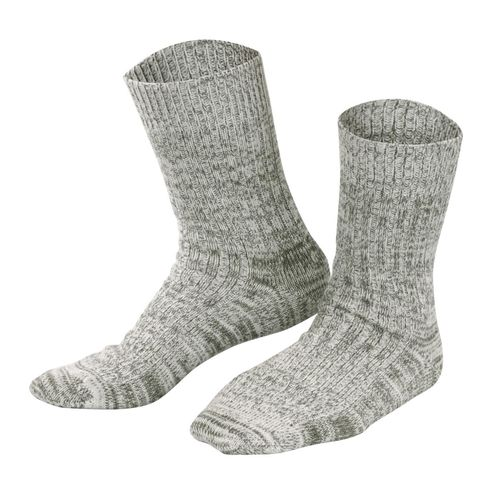 Living Crafts Norwegersocken (olive mouliné)