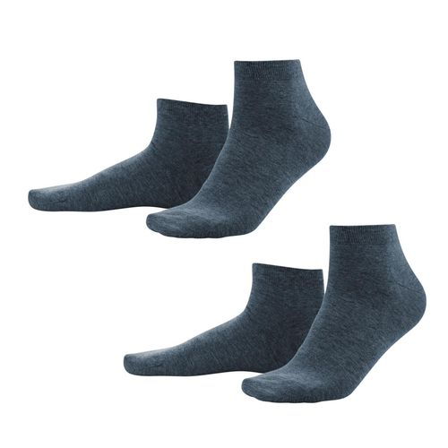 Living Crafts Sneaker-Socken Curt, 2er Pack (dark navy)