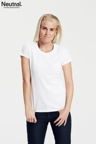 Neutral Ladies Fitted T-Shirt (white)