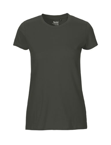 Neutral Ladies Fitted T-Shirt (charcoal)