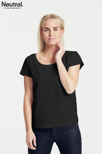 Neutral Ladies Loose Fit T-Shirt (black)