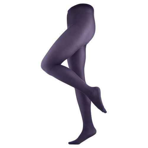 Living Crafts Strumpfhose Franziska (plum)