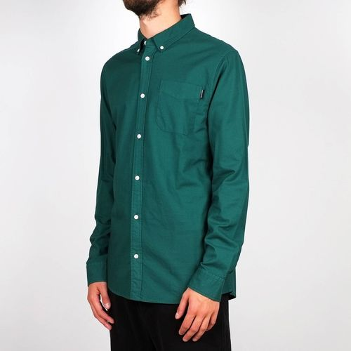 Dedicated Shirt Varberg Oxford (evergreen)