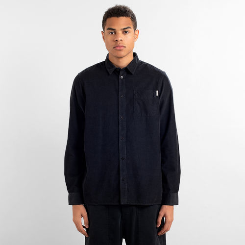 Dedicated Shirt Varberg Corduroy (black)