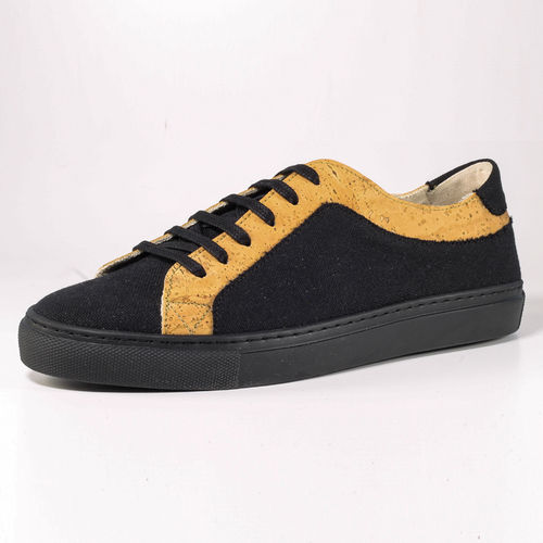 Fairticken Tavira Sneaker Men (black Canvas / Kork)