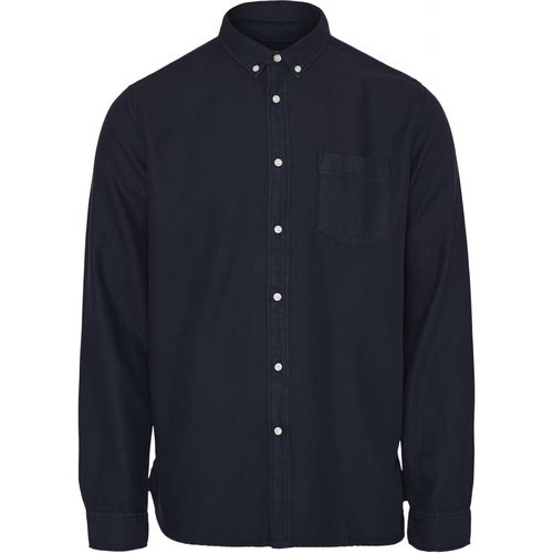 Knowledge Cotton Apparel Larch Tencel Shirt (total eclipse)
