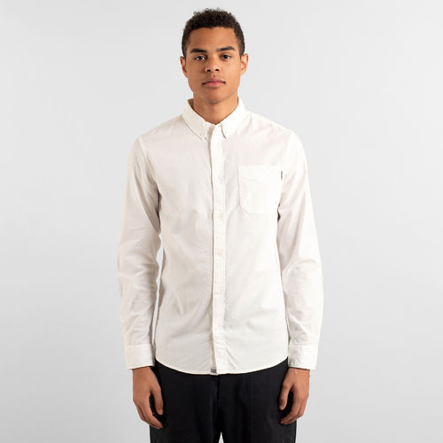 Dedicated Shirt Varberg Oxford (off-white)