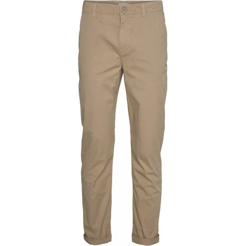 Knowledge Cotton Apparel CHUCK Popelin Chino (light feather gray)