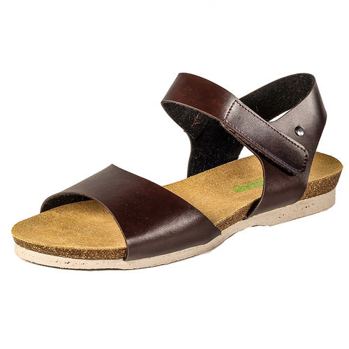 Fairticken Leira Sandale (brown, Microfaser)