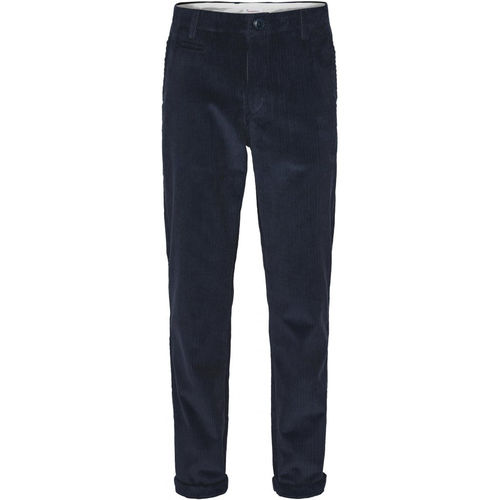 Knowledge Cotton Apparel Chuck 8 Wales Corduroy Chinos (total eclipse)