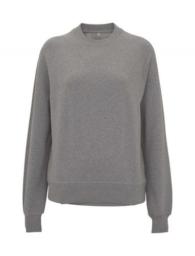 CC EARTHPOSITIVE® Damen Sweatshirt mit Raglanärmeln (light heather)