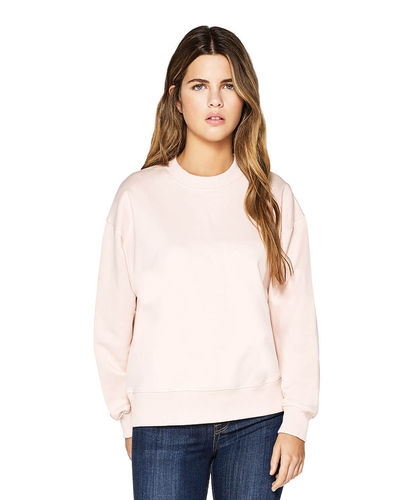 CC EARTHPOSITIVE® Schwerer Damen Sweater (misty pink)