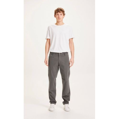Knowledge Cotton Apparel Karohose CHUCK (total eclipse)